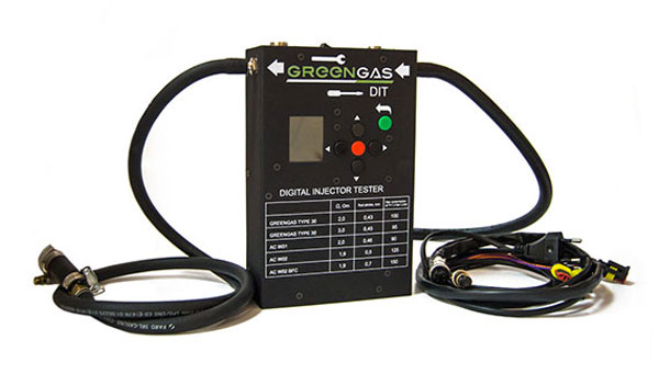 GREENGAS DIT: gas injector tester